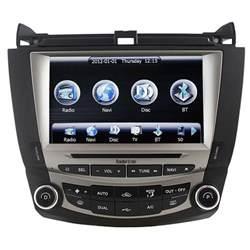 autoradio dvd gps navigation stereo for honda accord 2003