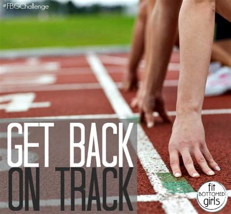 Get Your On Track by Get Back On Track With The May Fit Bottomed Challenge