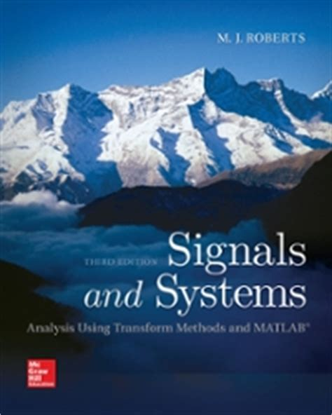 Signal And Systems 13ed signals and systems analysis using transform methods