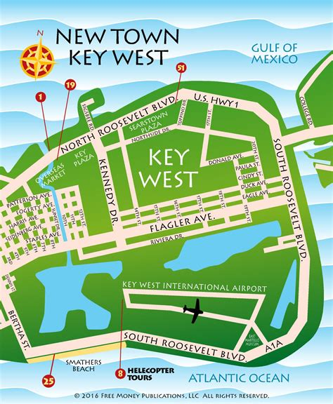 key west florida map maps key west florida key west florida discount coupons and gift shop