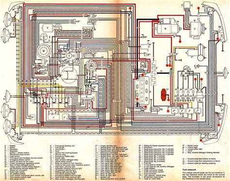 1976 vw type 2 wiring altinator diagram