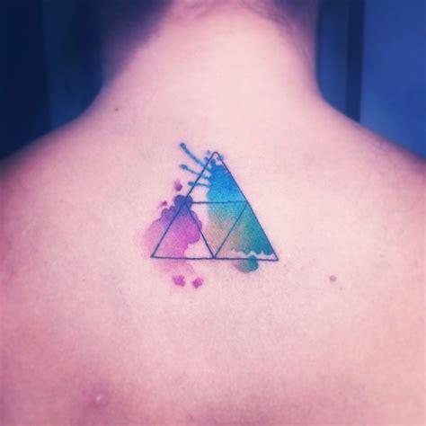 watercolor tattoo zelda triforce watercolor by nancy abraham my