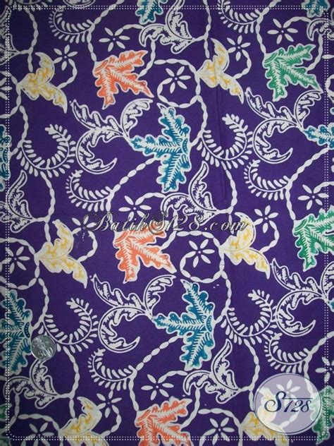 Flatshoes The Warna Motif Batik 2 batik warna alami batik tiara 2017