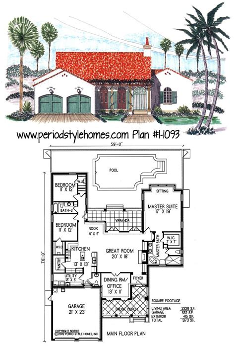 spanish colonial revival house plans spanish colonial style house plans www pixshark com