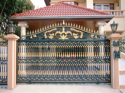 iron gates design gallery 10 images kerala home design