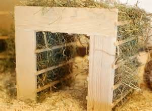 sooo cool hay rack guinea pig cage ideas