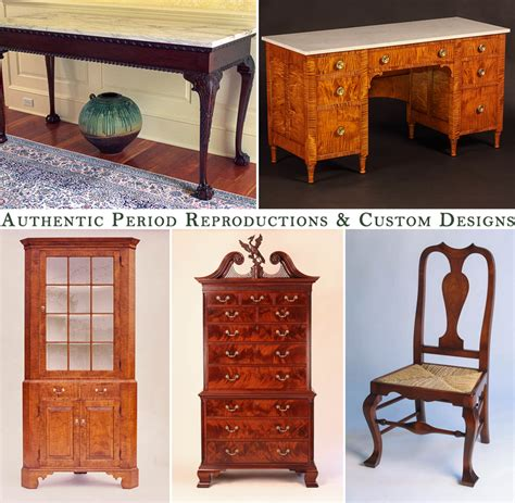 Handmade Furniture Makers - e jacobsen furniture maker authentic period reproduction