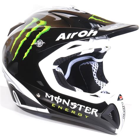 monster helmet motocross airoh stelt monster energy 2010 motocross helmet xl