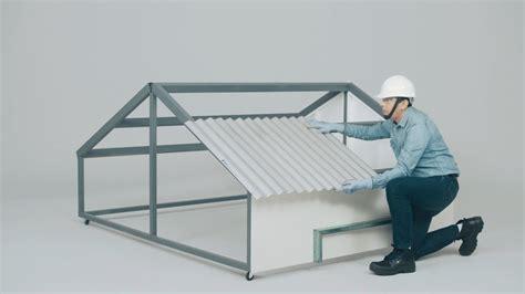 como instalar un techo de policarbonato c 243 mo instalar un techo con l 225 mina ternium zintro alum e