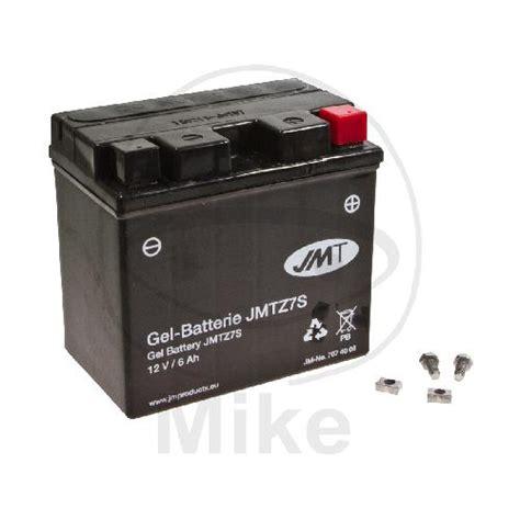 Motorrad Batterie Selbstentladung by Motorrad Batterie Jmt Ytz7s Gel Motorradteile Service