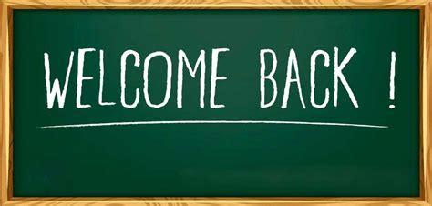 Welcome back st charles catholic school