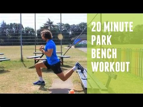 park bench workouts park bench workout 20 min hiit doovi