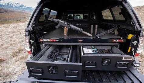truck bed vault defconbrix truckvault cargoglide bed storage
