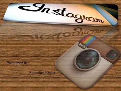 Instagram Authorstream Instagram Presentation Template