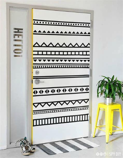 Diy Washi Tape by Puertas Ideas Y Fotos Puertas Novedades Puertas