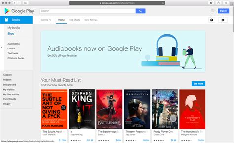 Play Store Books Is Now Selling Audiobooks On Play Store Available
