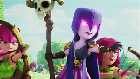 Bluestacks witch in clash of clans wallpaper