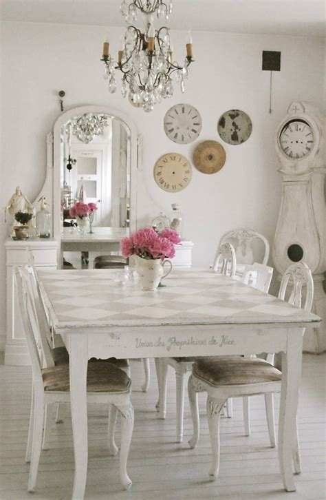 Shabby Chic Decorations by 39 Beautiful Shabby Chic Dining Room Design Ideas Digsdigs