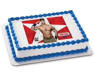 wwe john cena approved photocake 174 image cake cakes com