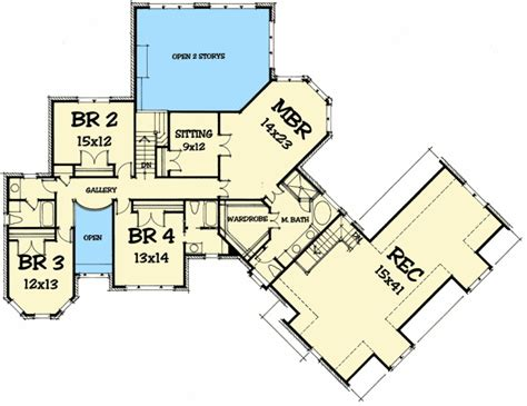rec room floor plans massive rec room 50607tr architectural designs house