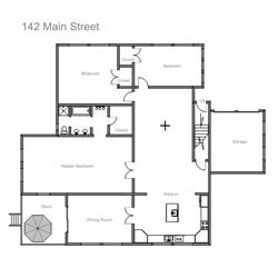 draw house plans for free easy to use floor plan drawing software