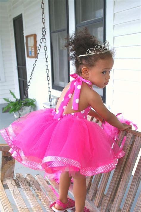 polka tutu dress minnie mouse themed tutu dress in pink polka dots via