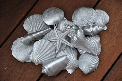 Diy Shell Decor by And Things Diy Paited Sea Shell Decorations