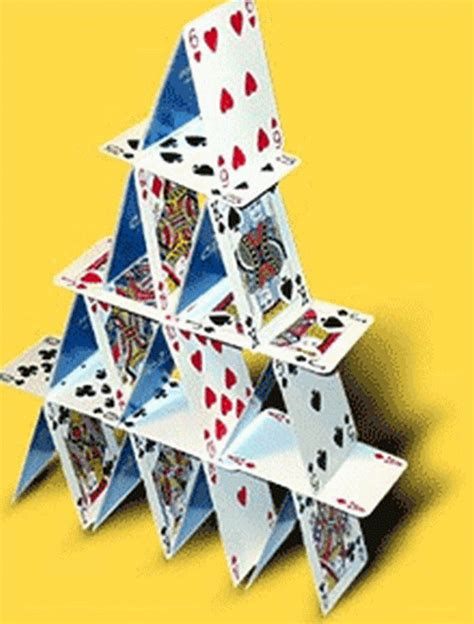 how to make house of cards le chateau de cartes