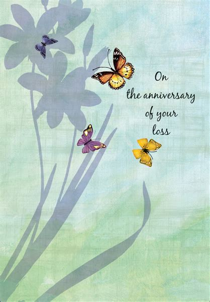 comfort card heartfelt death anniversary cards hospice cards and more