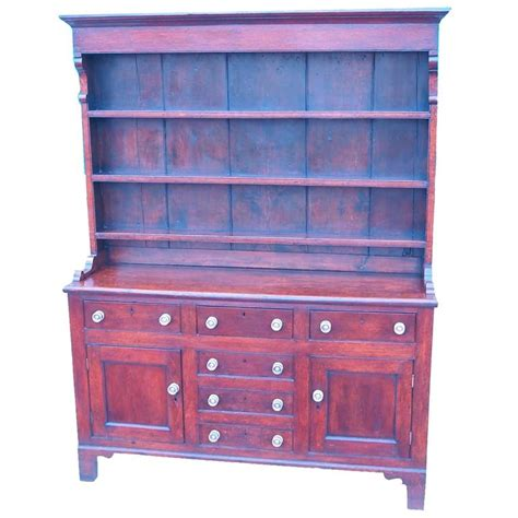 Oak Dresser For Sale by Antique Georgian Oak Dresser With Rack For Sale At 1stdibs