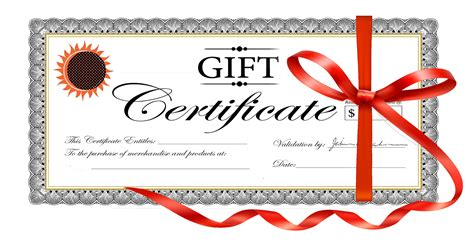 graphic design gift card template gift certificate