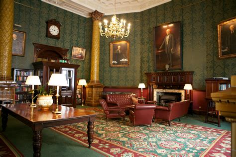 smoke room room national liberal club