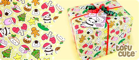 buy tofu cute gift wrap set kawaii christmas characters