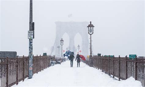 imagenes impresionantes de nueva york espectacular nevada en nueva york 161 las fotos m 225 s
