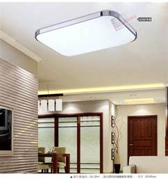 Overhead Kitchen Light Fixtures Slim Fixture Square Led Light Living Room Bedroom Ceiling