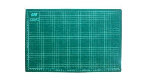 Cutting Mat Alas Potong Sdi A2 60 X 45 X 0 3 Cm sdi cutting mat a3 18 quot x 12 quot hindustan trading company supply stationery