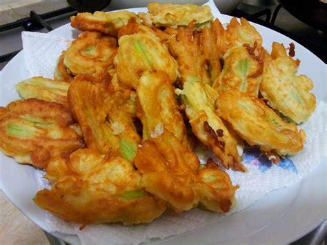 fiori di zucca fritti birra cucini amo fiori di zucca fritti alla birra
