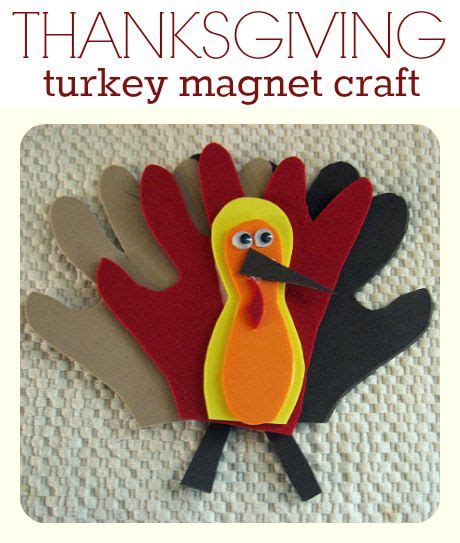 thanksgiving crafts for ages 3 5 turkey craft magnets crafts 5 years and thanksgiving