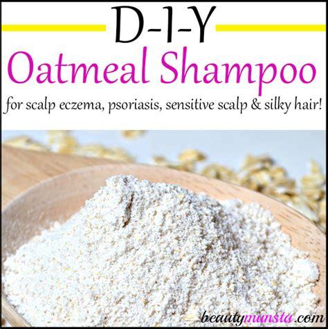 oatmeal treatment for hair diy oatmeal shoo for scalp eczema psoriasis
