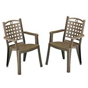 fauteuil de jardin grosfillex en multi mati 232 res