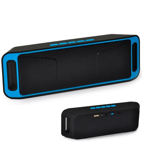 Usb Speaker sc208 wireless bluetooth speaker caixa de som column stereo subwoofer usb speakers tf fm radio