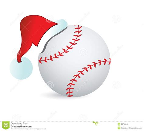 baseball santa cap royalty free stock photos image 29755648