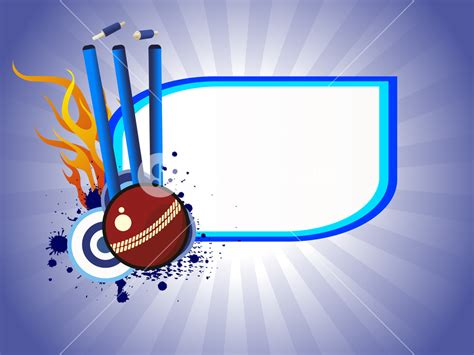 ppt templates for cricket free download vector illustration of cricket background royalty free