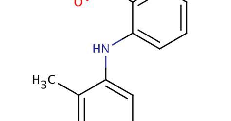 Obat Asam Mefenamat struktur kimia asam mefenamat dan rumus nama kimia asam