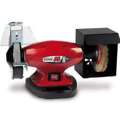 mini bench grinder polisher fox femi 150mm mini bench grinder polisher 36n poolewood