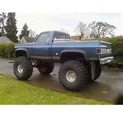 Lifted Chevy &187 Trucks 1974 Shortbox With 49