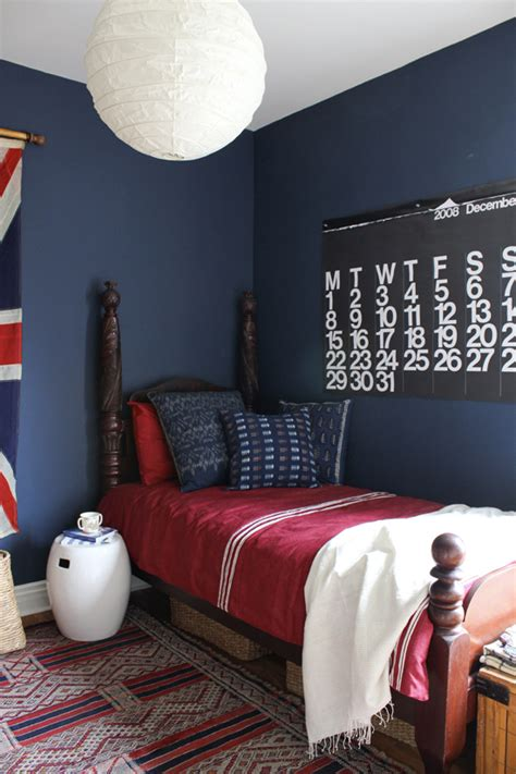 boys blue and red bedroom dark blue bedrooms on pinterest royal blue bedrooms