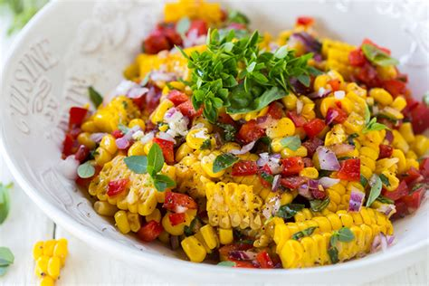 Best Salad Recipes | best ever corn salad skinny ms