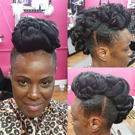50 updo hairstyles for black women ranging from elegant to 50 updo hairstyles for black women ranging from elegant to