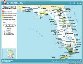 map of bases in florida printable maps federal lands